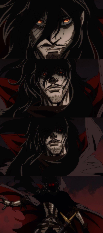 Alucard Pics whooooooa waitwhat?! when did hemustache and