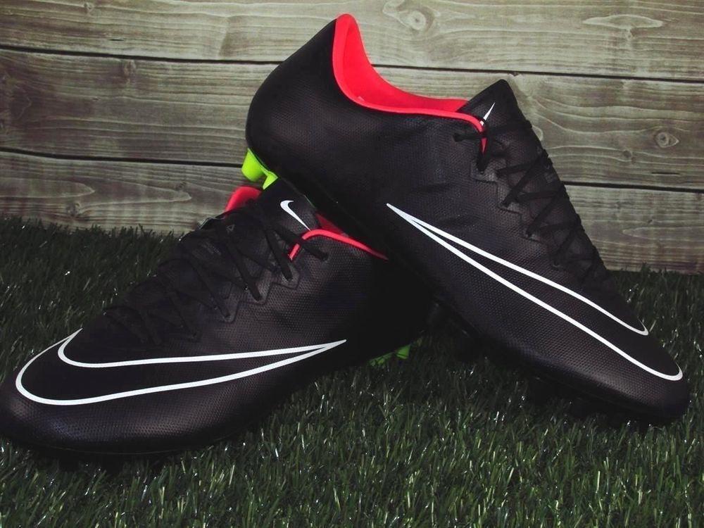 e1370ee0412a Nike Mercurial Vapor X FG ACC Soccer Cleats Mens Size 7.5 Black/Pink  648552-017 #Nike