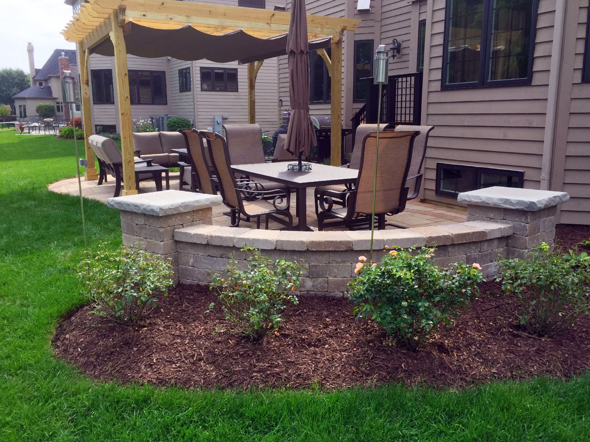 Patio Design With Pergola By Naperville, IL Patio Builder   Design Ideas    Archadeck