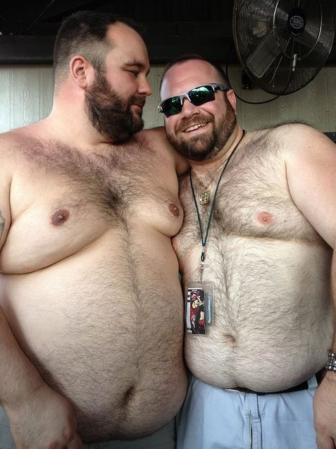 two fat gay guys