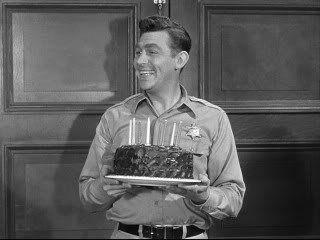 Andy Holding Otis Birthday Cake Happy Birthday Andy Andy