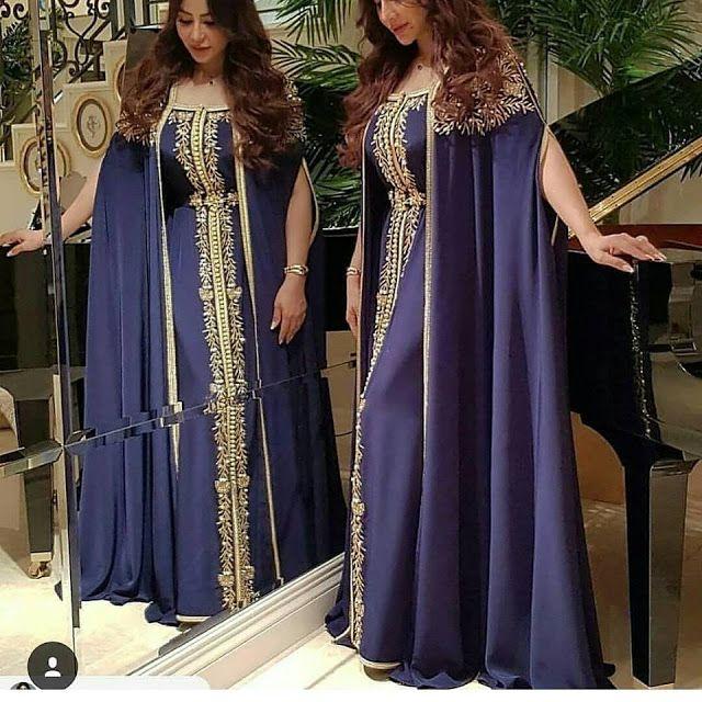 Caftan Marocain 2018 Styles Moderne A Vendre Sur Commande
