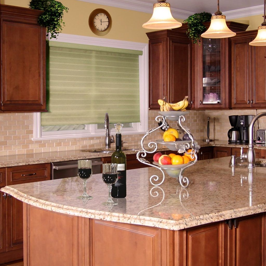 Cinnamon Brown Kitchen Cabinets | Brown kitchen cabinets ...