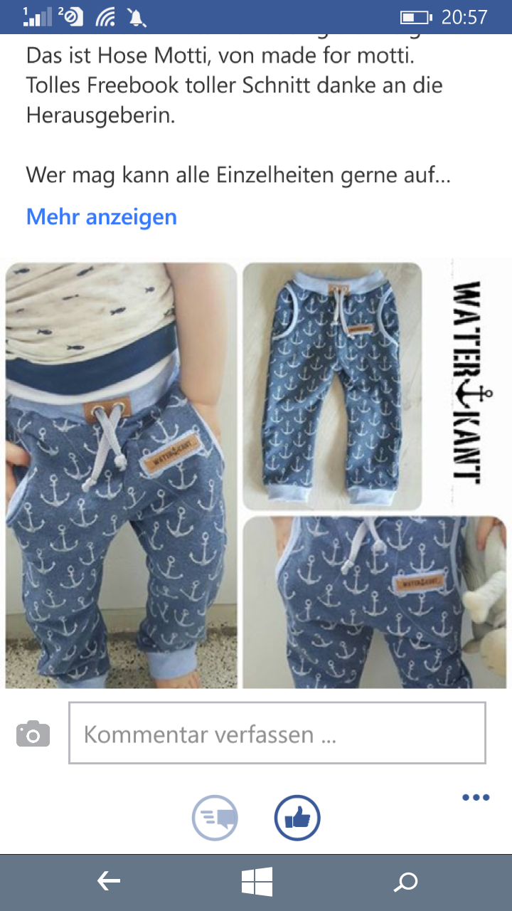 Motti variation mit snappap am Bündchen | Sewing Design ideas ...
