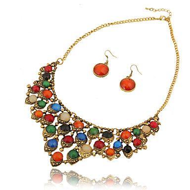 sexo&senhora mulheres partido / jóias ornamentos ocasional colar – BRL R$ 20,49