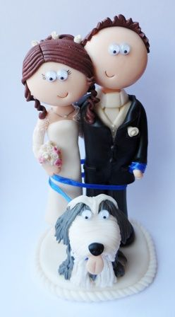 funny indian wedding cake toppers uk amp groom wedding cake topper with their bearded 14554