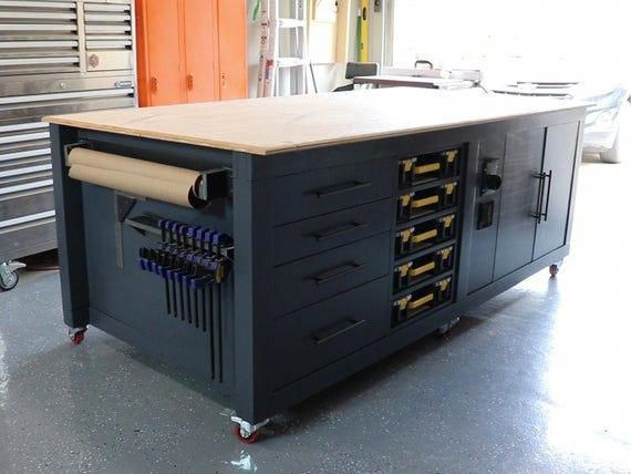 Ultimate Workbench Woodworking Plans Instant Download