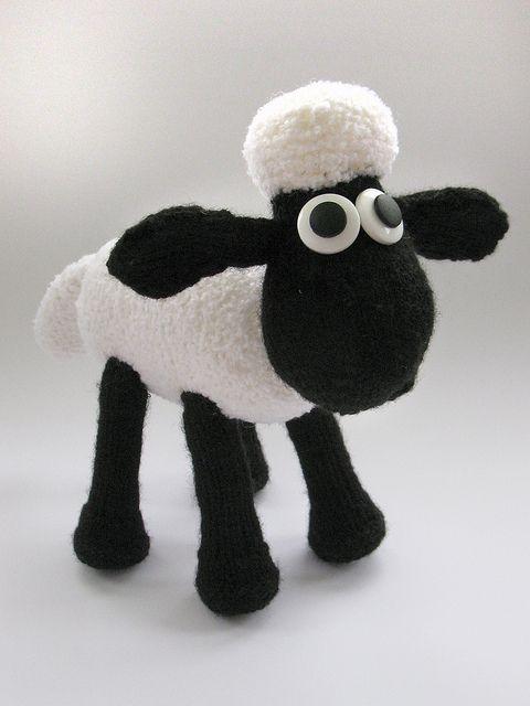 Shaun the Sheep Knit Kit pattern by Patons UK | Sheep | Pinterest ...