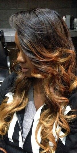 Ombre sew in