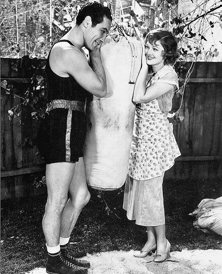 Max Baer & Myrna Loy - The Prizefighter & the Lady (1933) | Parejas  famosas, Fotos de parejas, Parejas
