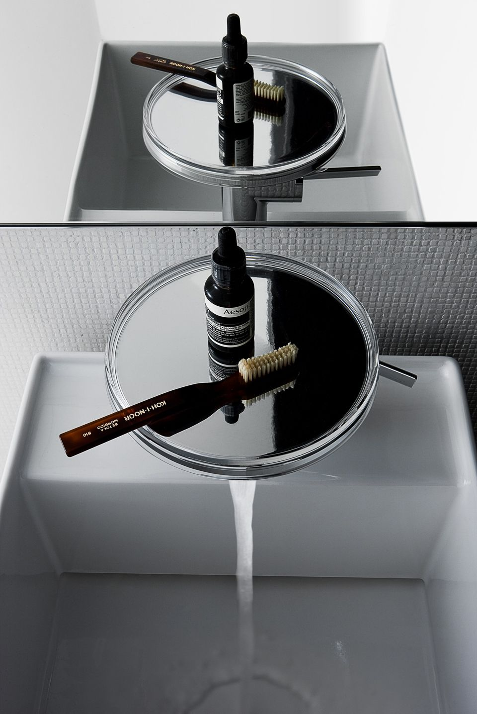 Get your guests talking with the dramatic #kartellbylaufen #faucet ...