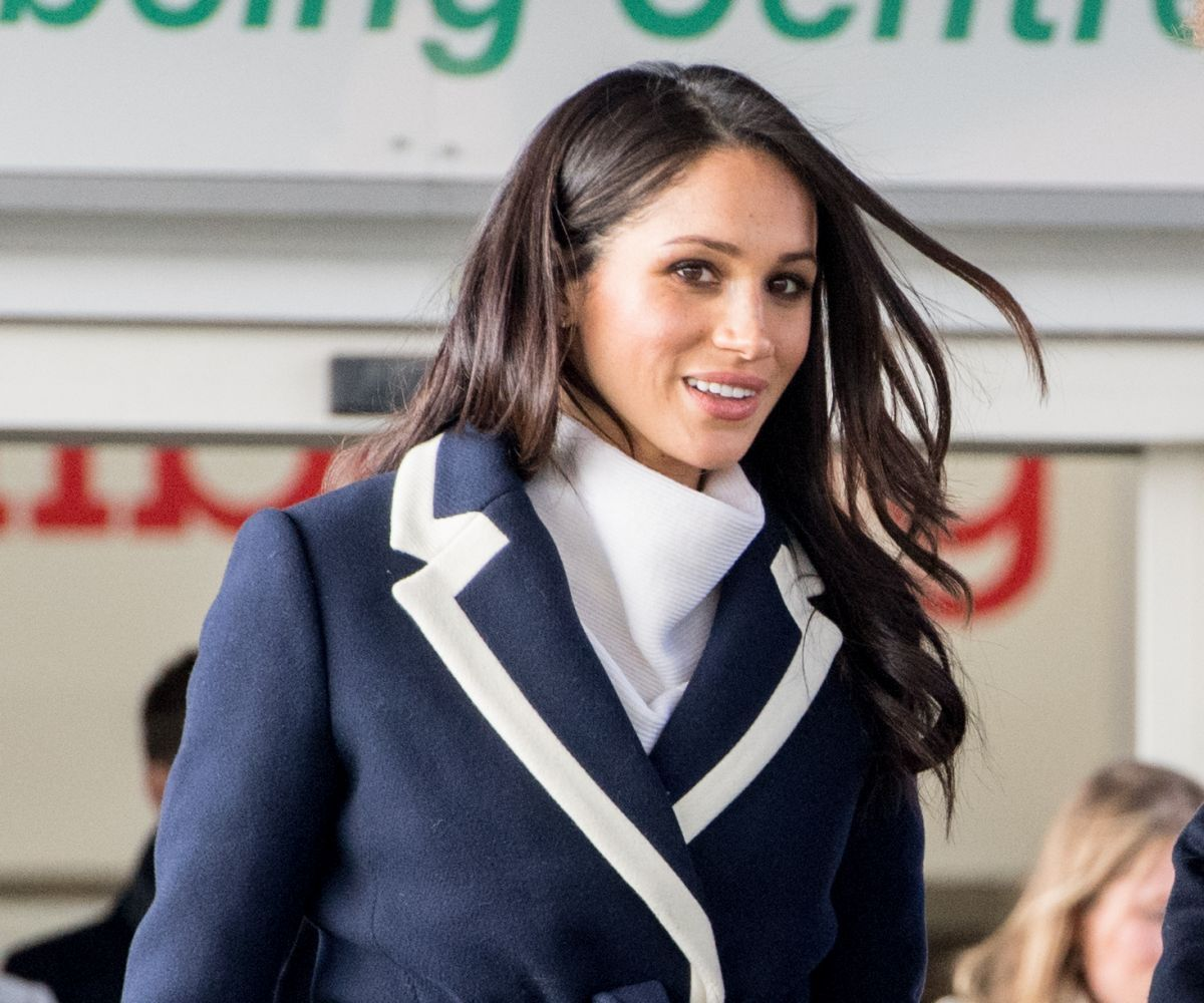 Meghan Markle Meets Local School Children During A