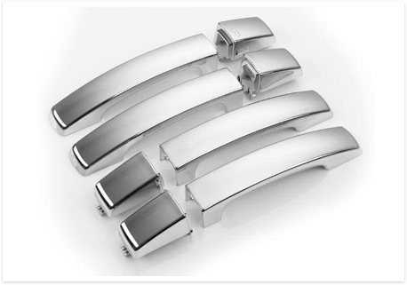 Hawke Chrome Door Handles Range Rover Sport 2005 2009 Discovery 3 Range Rover Sport Jaguar Accessories Chrome Door Handles