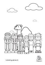 Book of Mormon for Toddlers coloring pages. I printed on