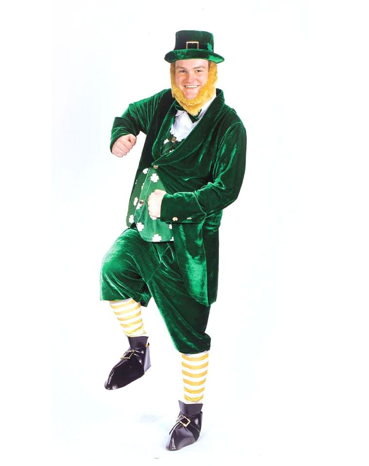 Leprechaun Adult Deluxe Costume St Patrick\u0027s Day Pinterest - mens halloween costume ideas 2013