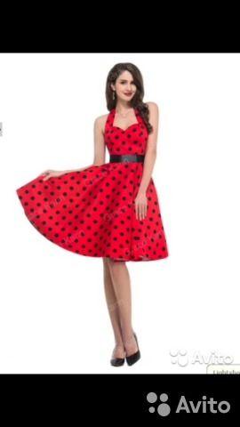 7ea300b276e Платье в стиле ретро