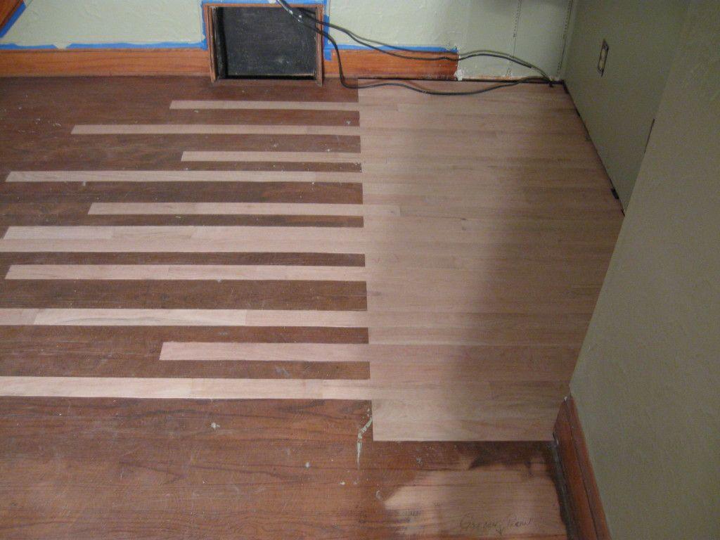Repairing A Plywood Patch In A Hardwood Floor Craftsman Remodel Diy Remodel Hardwood Floors