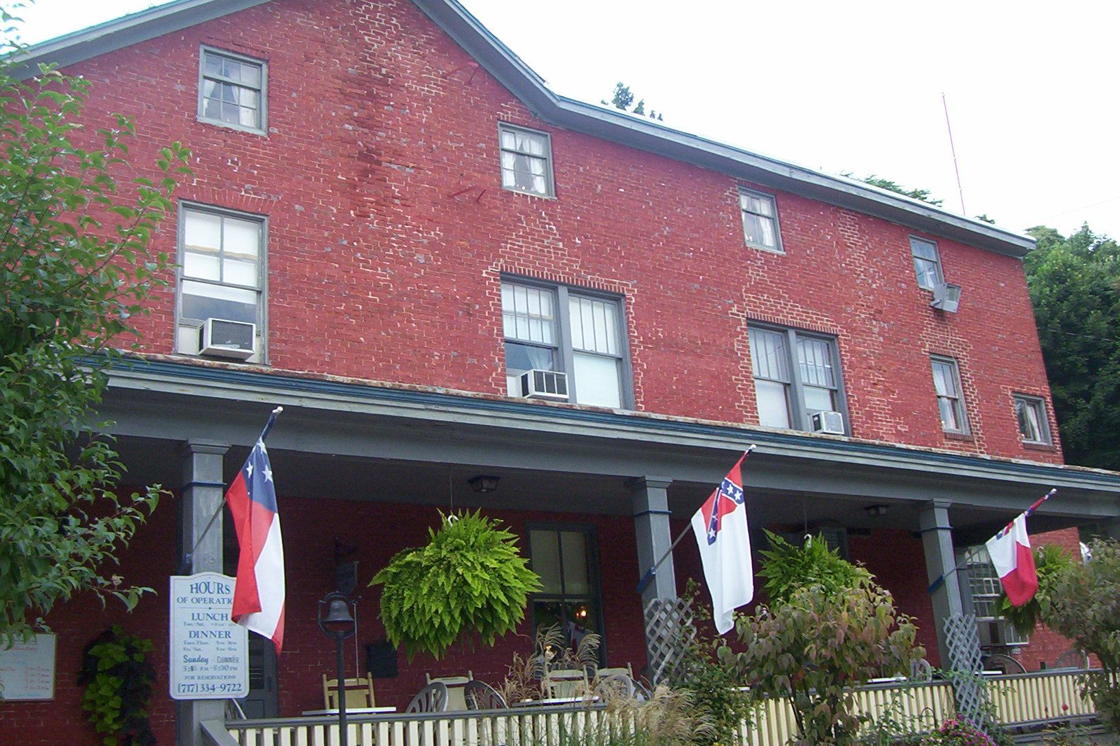 Cash Town Inn Haunted Pennsylvania Gettysburg