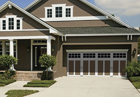 Coachman Collection Garage Doors With Brown Home Doors Pinterest