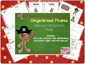 Rowdy in First Grade: Gingerbread Pirates