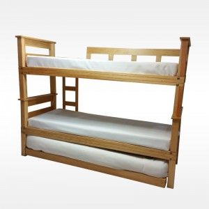 Litera infantil de madera manualidades para todos liter - Literas infantiles de madera ...