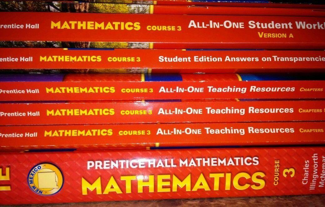 Prentice Hall Mathematics Course 3 2008 8th Grade Math TE