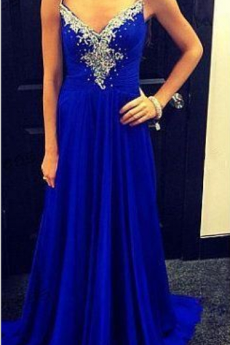 Charming Prom Dress,Beading Prom Dress,Chiffon Prom Dress,Spaghetti Straps Evening Dress, Formal Occasion Dresses,Formal Dress