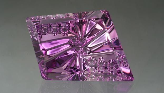 Faceted Amethyst Gemstone
