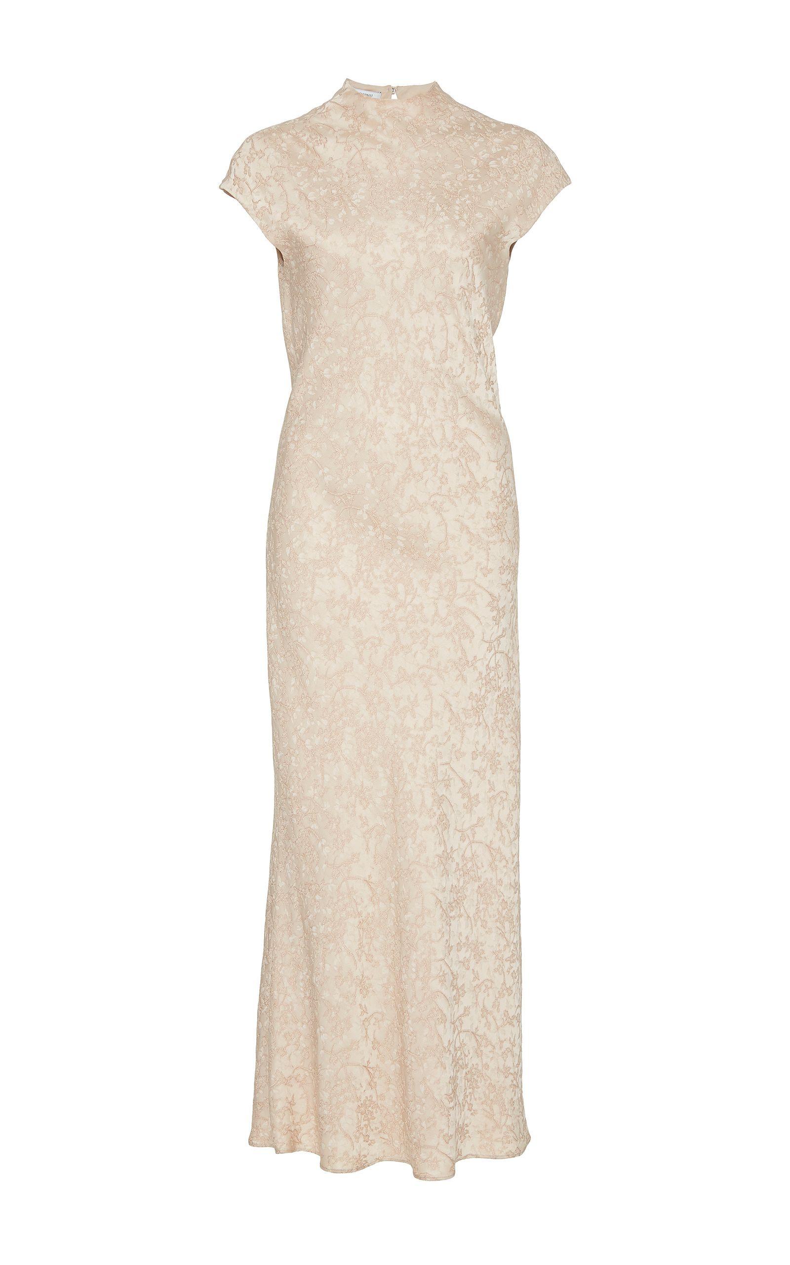 e8417a235fded PROTAGONIST PROTAGONIST CAP SLEEVE BIAS DRESS. #protagonist #cloth ...