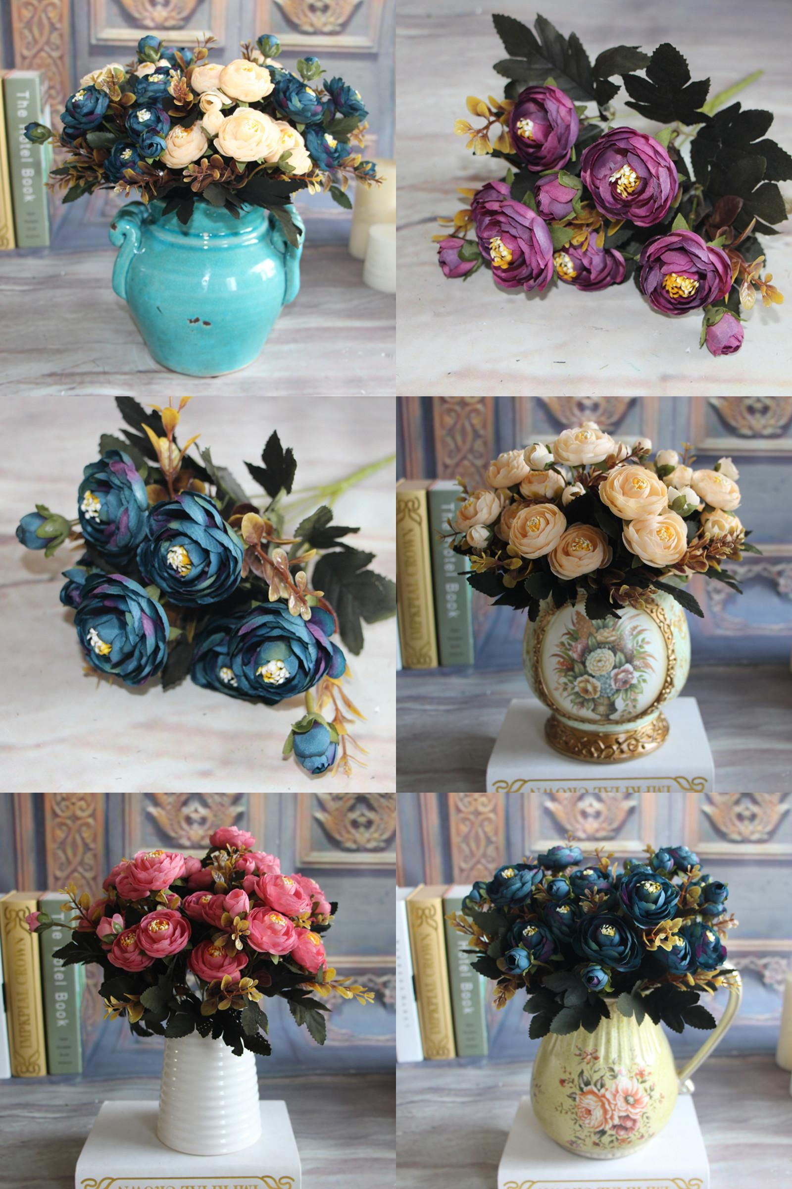 Visit to buy wholesale silk flowers artificial fake peony flower visit to buy wholesale silk flowers artificial fake peony flower real touch home room izmirmasajfo Image collections