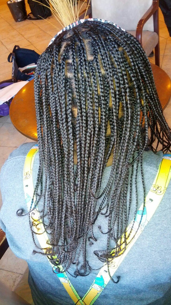 Small Plait Braids No Weave All Natural Hair Natural