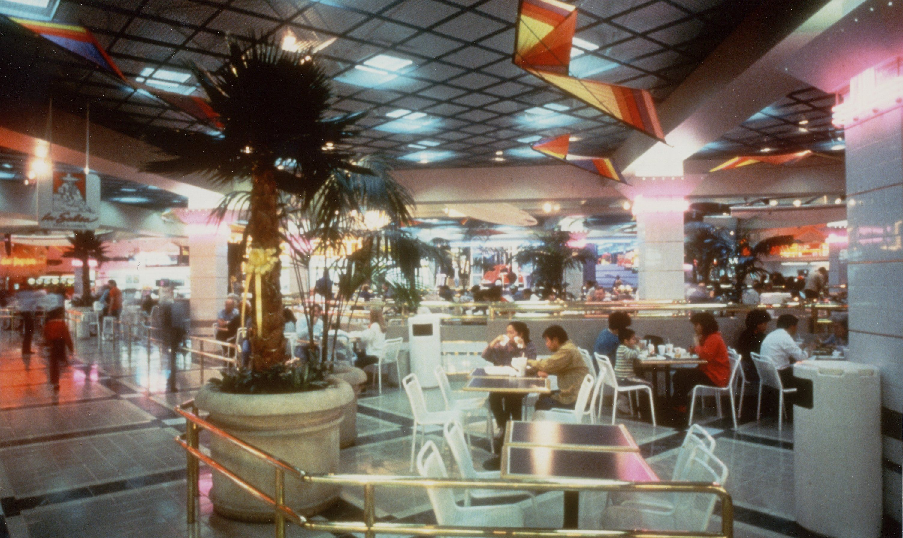 online store 87faa daf8a Interior of the Glendale Galleria food court with its  new look  in the  early