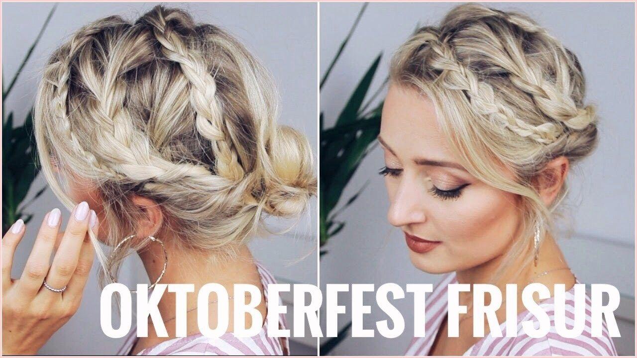 Oktoberfest Frisur Kurze Haare  Dirndl frisuren kurze haare
