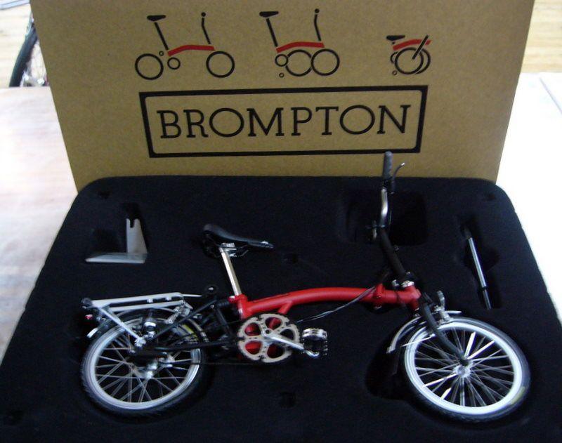 1 6 Bromtpon Model Kit Bike Brompton Brompton Accesories