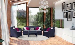Groupon - Salon de jardin pour 2, 4 ou 5 places. Prix ...