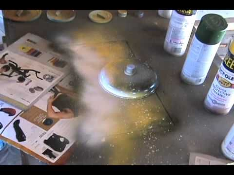 Spray Paint Art Tutorial: Pyramids