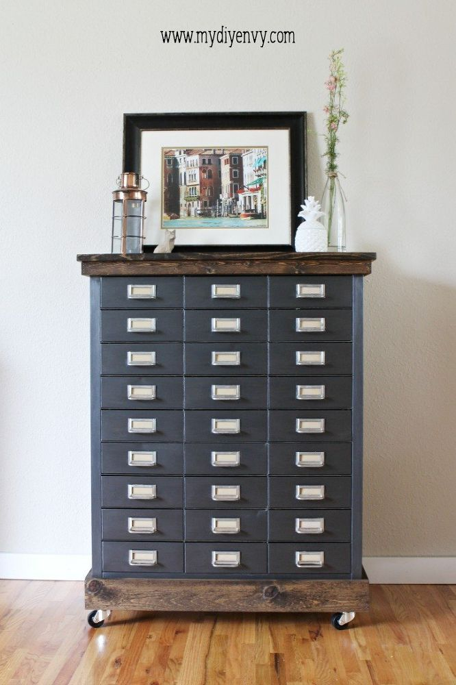 3 Genius Ways To Use An Old Filing Cabinet Painting