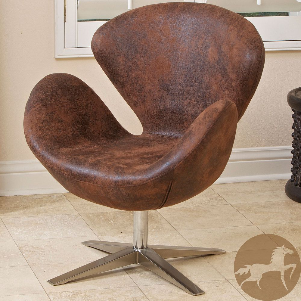Christopher Knight Home Modern Brown Petal Chair