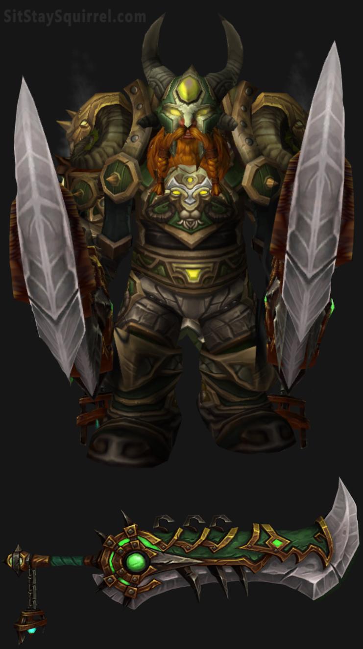 Fury Warrior Transmog #plate | WoW | Pinterest | Warrior ...