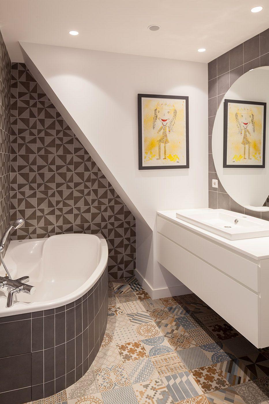 R novation appartement duplex par l 39 agence sophie malric - Showroom salle de bain toulouse ...
