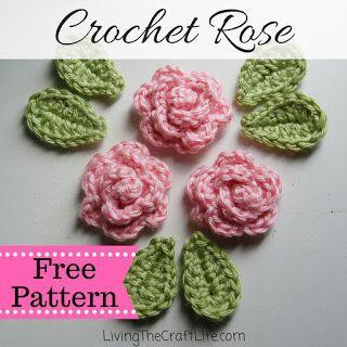 Petite Rose Applique - Free Pattern