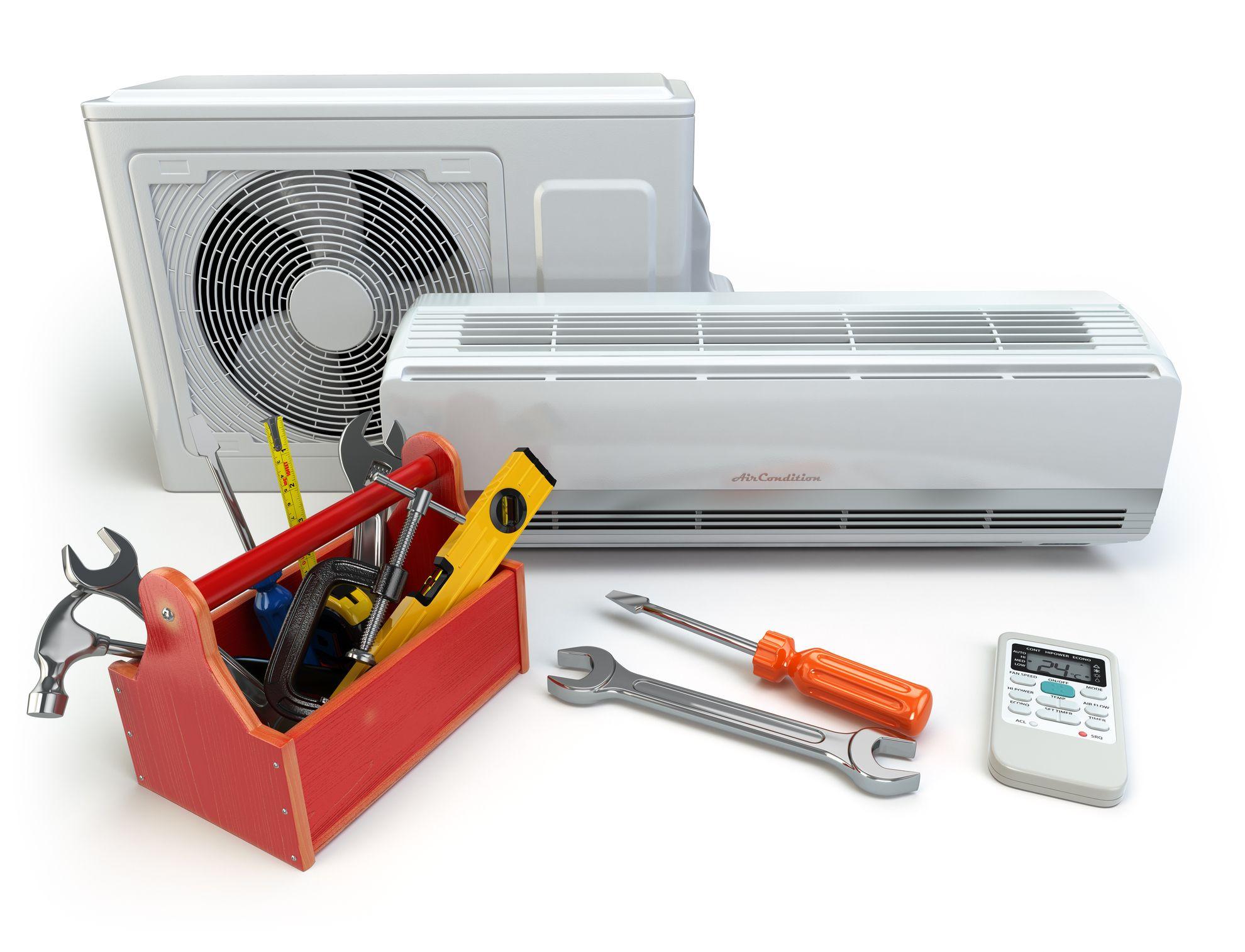 repair AC heating HVAC Air conditioning installation