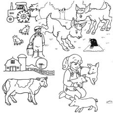 top 10 farm coloring pages your toddler will love to color. Black Bedroom Furniture Sets. Home Design Ideas