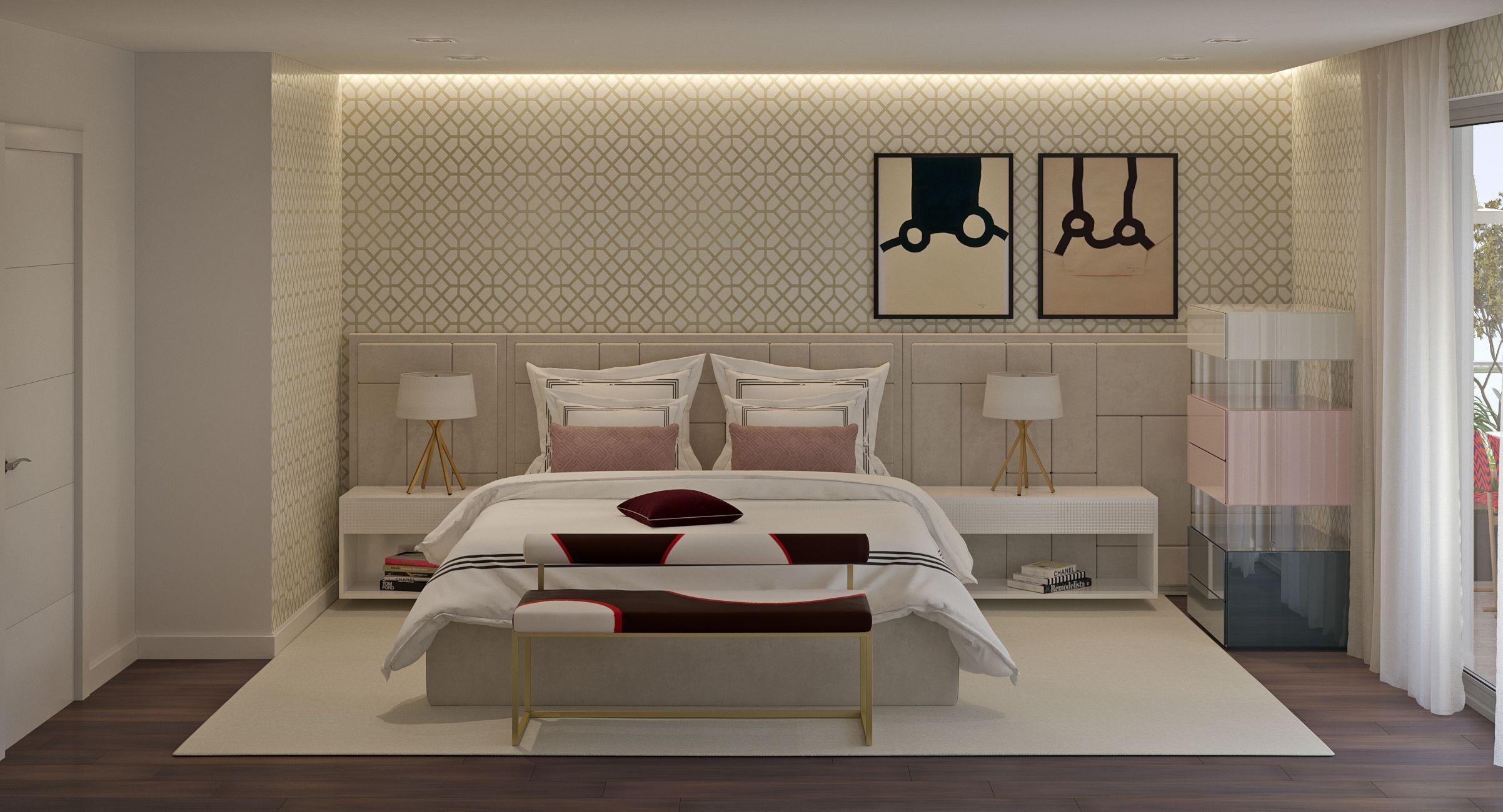 Habitación diseñada por el equipo de 3Deko