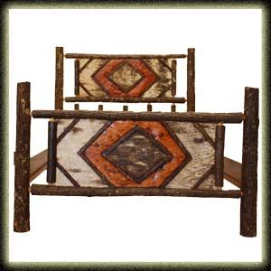 Hickory Furniture Designs - 983 - Birch Bed
