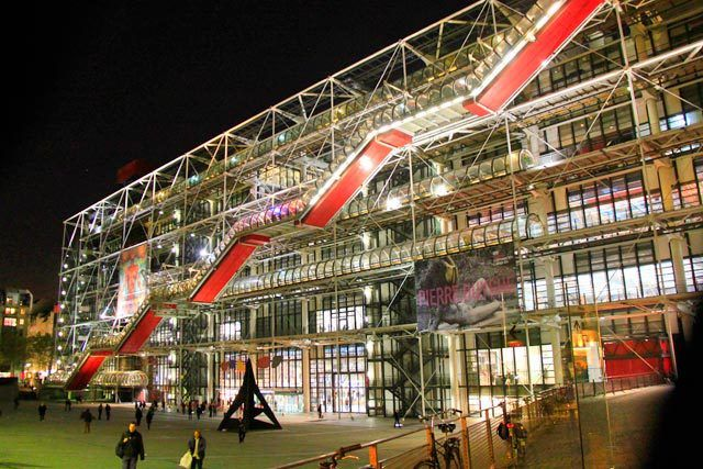 PARIS - Centre Georges Pompidou - http://fuievouvoltar.com