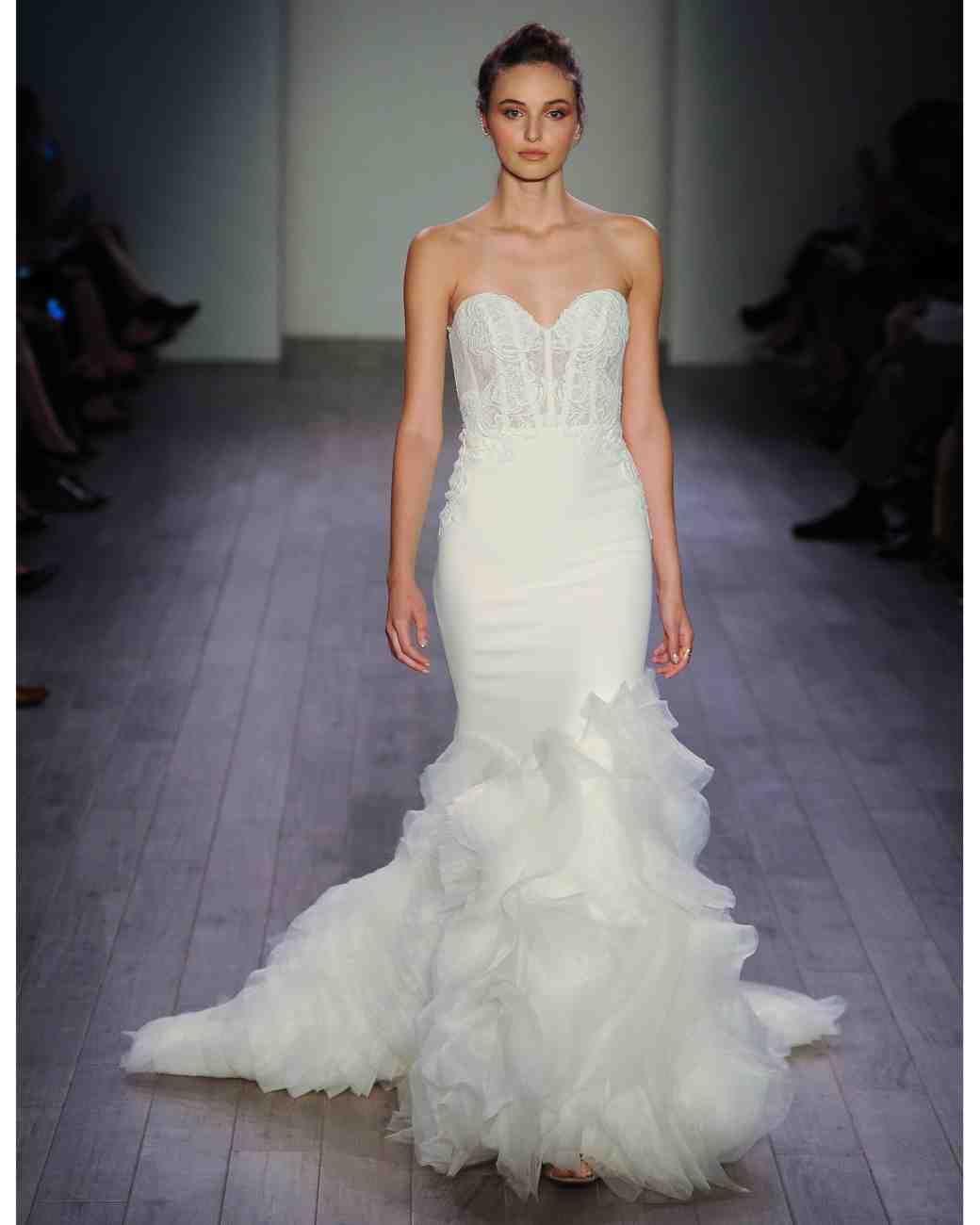 Lazaro Fall 2016 Wedding Dress Collection   Martha Stewart Weddings ...