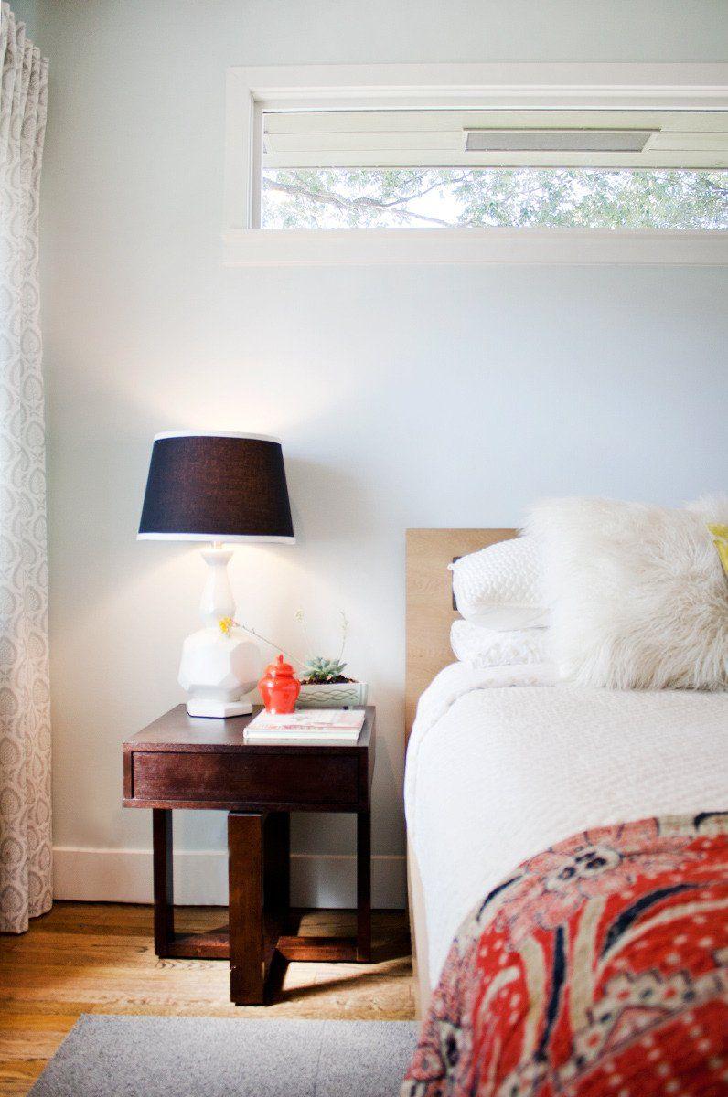 Window above bed  cass u carlaus elegant playful home  home  pinterest  apartment