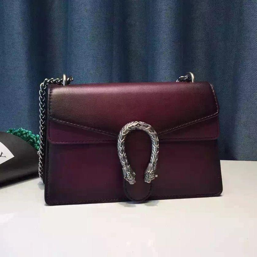 30f0a2884f5c Gucci Leather Dionysus Shoulder Bag In Burgundy | Gucci Dionysus ...