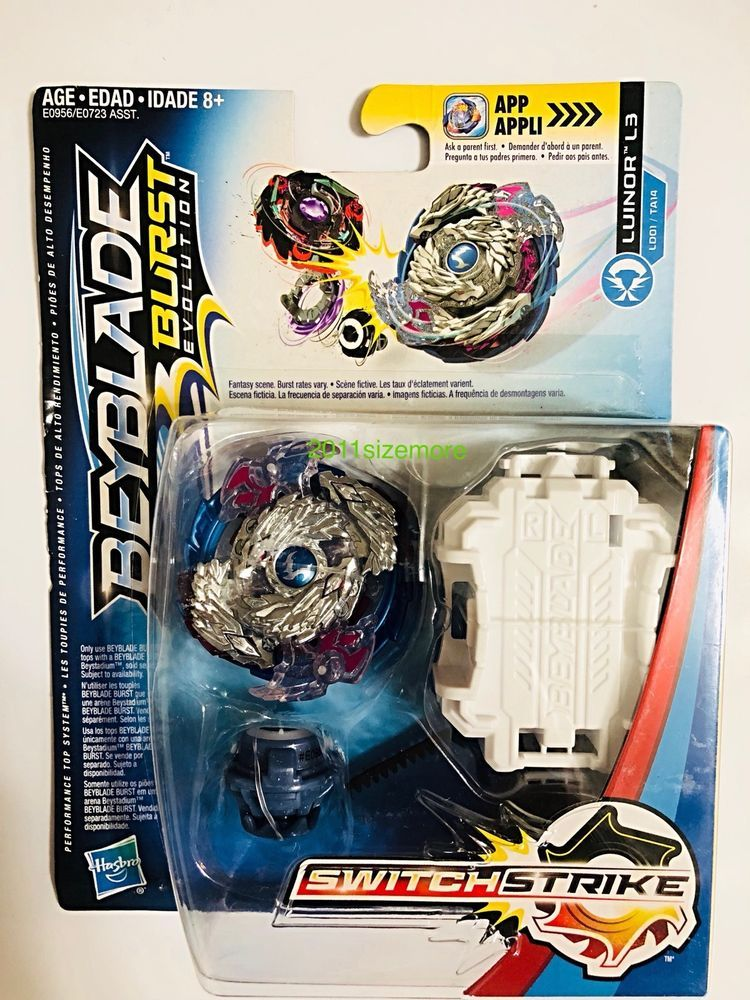 Beyblade Burst Evolution Switchstrike Nightmare Luinor L3 Hasbro New